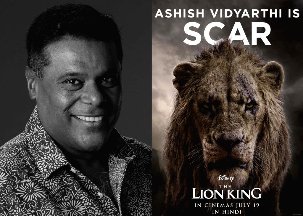 "Ashish Vidyarthi is Scar in the Hindi version of ""The Lion King""."