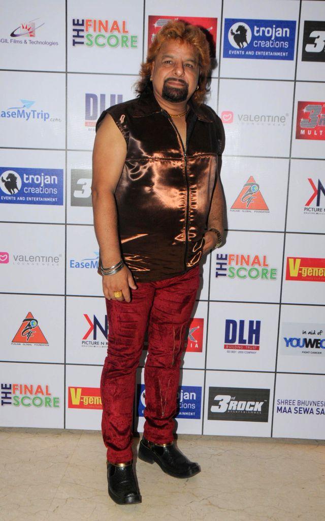 Ashoo Punjabi during the Satinder Sartaj's `Mehefil-e-Sartaaj` live concert at Hotel Novotel in Juhu, Mumbai on Saturday, June 21, 2014.
