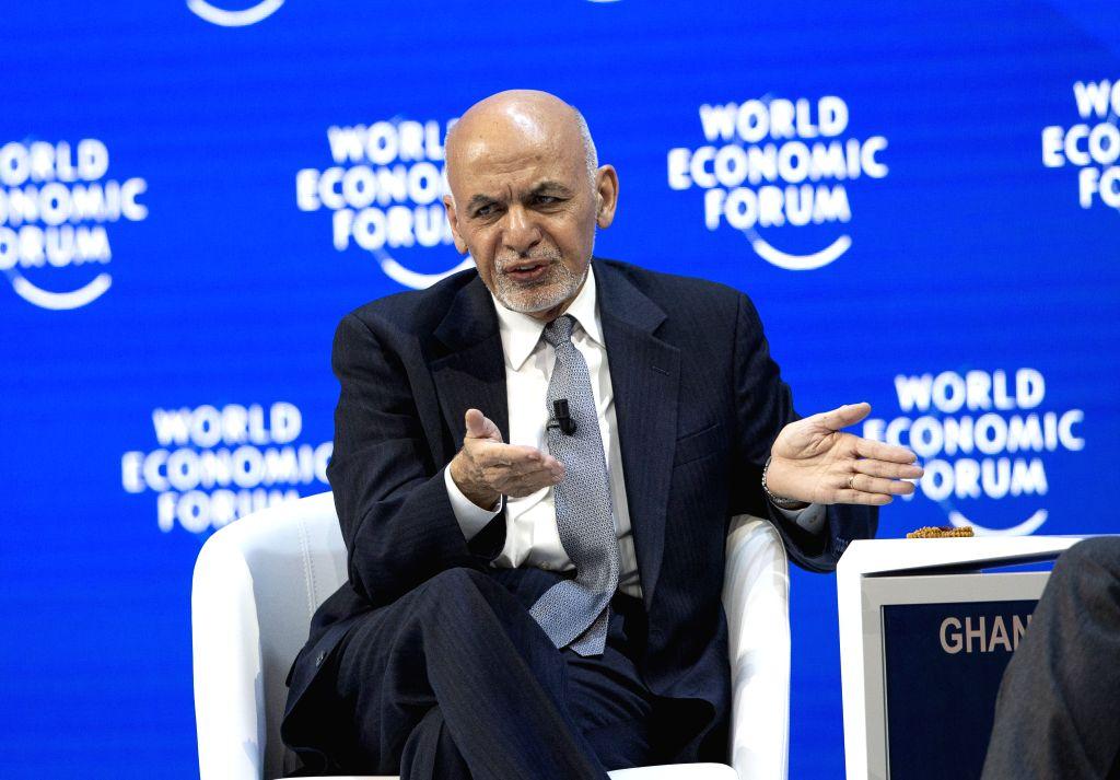 Ashraf Ghani. (Xinhua/Xu Jinquan/IANS)