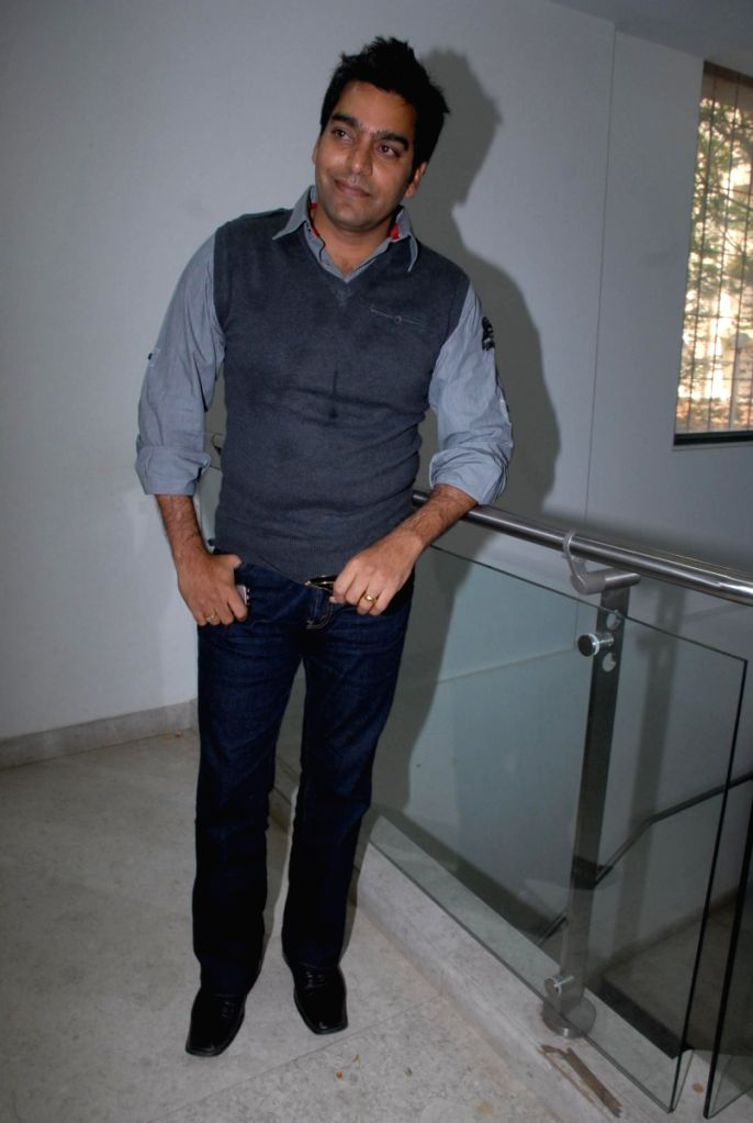 Ashutosh Rana at Coffee Shop film promotion.