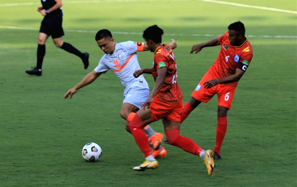 Asian Cup 2023 qualifiers: India beat Bangladesh 2-0
