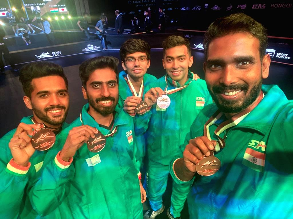 Asian TT Championships: India end campaign with three bronze