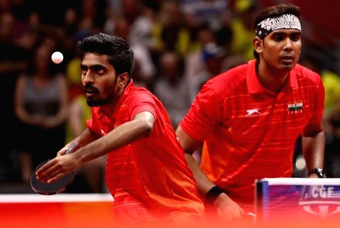 Asian TT: India assured of two medals in men's doubles (Ld)