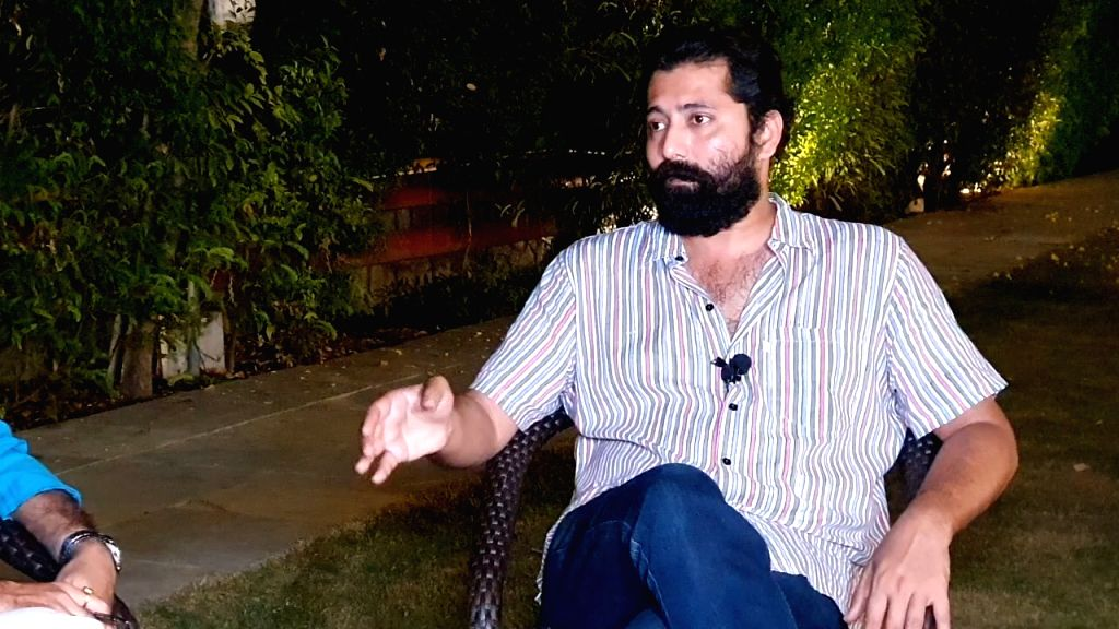 Askari Naqvi during an interview with IANS in New Delhi on Oct 15, 2019.
