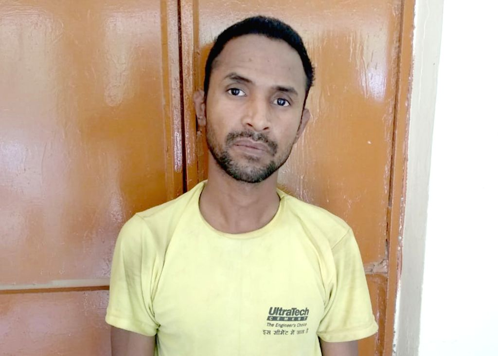 Aslam, one of the accused in the murder of a two-and-a-half year old girl in Aligarh, on June 8, 2019. The Uttar Pradesh government has decided to book the two accused Zahid and Aslam in the ...