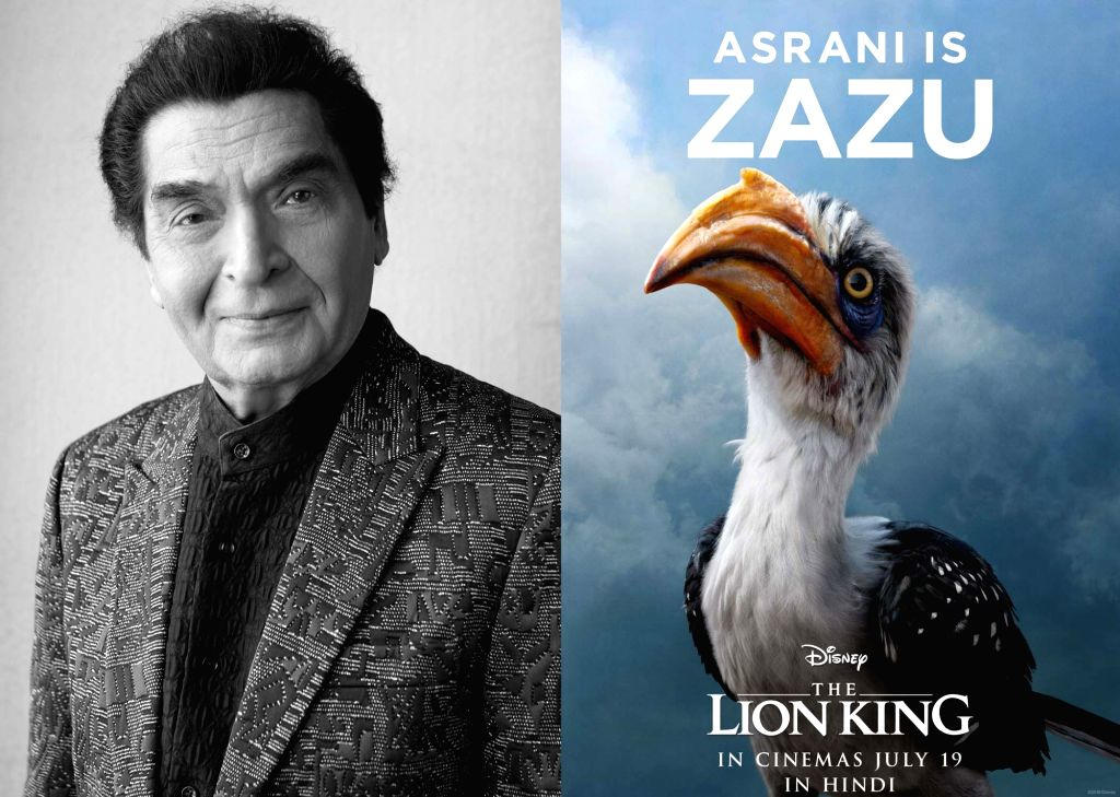 "Asrani is Zazu in the Hindi version of ""The Lion King""."