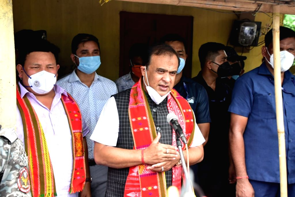 Assam CM visits family of 2 girls found hanging from tree, assures firm action