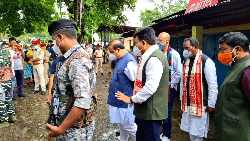 Assam CM visits sites of Tinsukia grenade blast that claims two lives