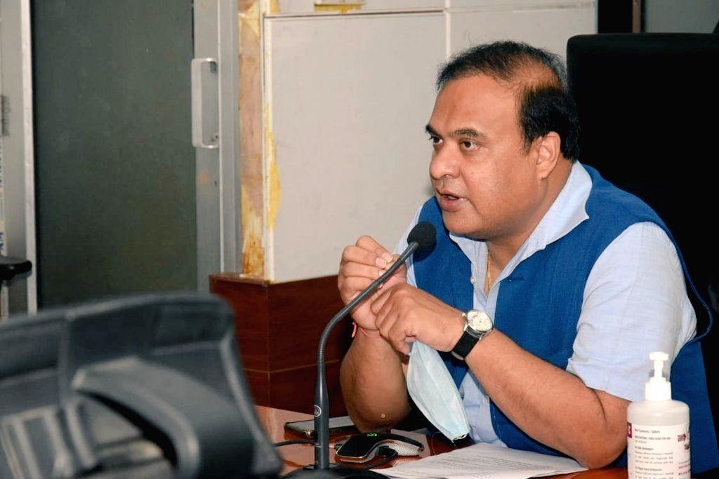 Assam Health Minister Himanta Biswa Sarma (Photo: twitter@himantabiswa) - Himanta Biswa Sarma