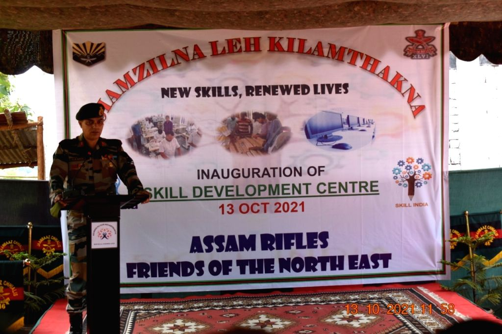 Assam Rifles set up skill development centre in conflict zone