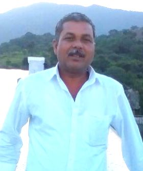 Assistant Sub-Inspector Dakshina Murthy, 52, who along with Constable Puttappa Lamani, 35. was trampled to death by a an elephant that strayed into the CRPF camp at Taralu village from the ...