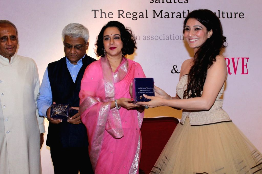 "Astrologer and Vastu Expert Jai Madaan during the ""Regal Maratha Culture"" in Mumbai on Sept 16, 2017."