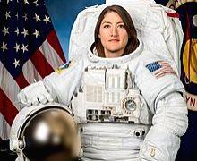 Astronaut Christina Koch.