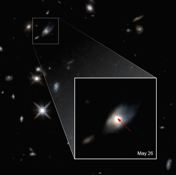 Astronomers spot 'unexplained brightness' from colossal explosion