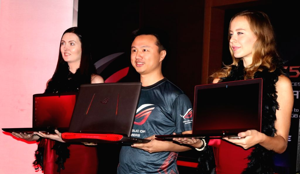 ASUS India Regional Head (South Asia & Country Manager) Peter Chang during a programme organised to launch Republic of Gamers ( ROG) series in New Delhi, on April 20, 2016.