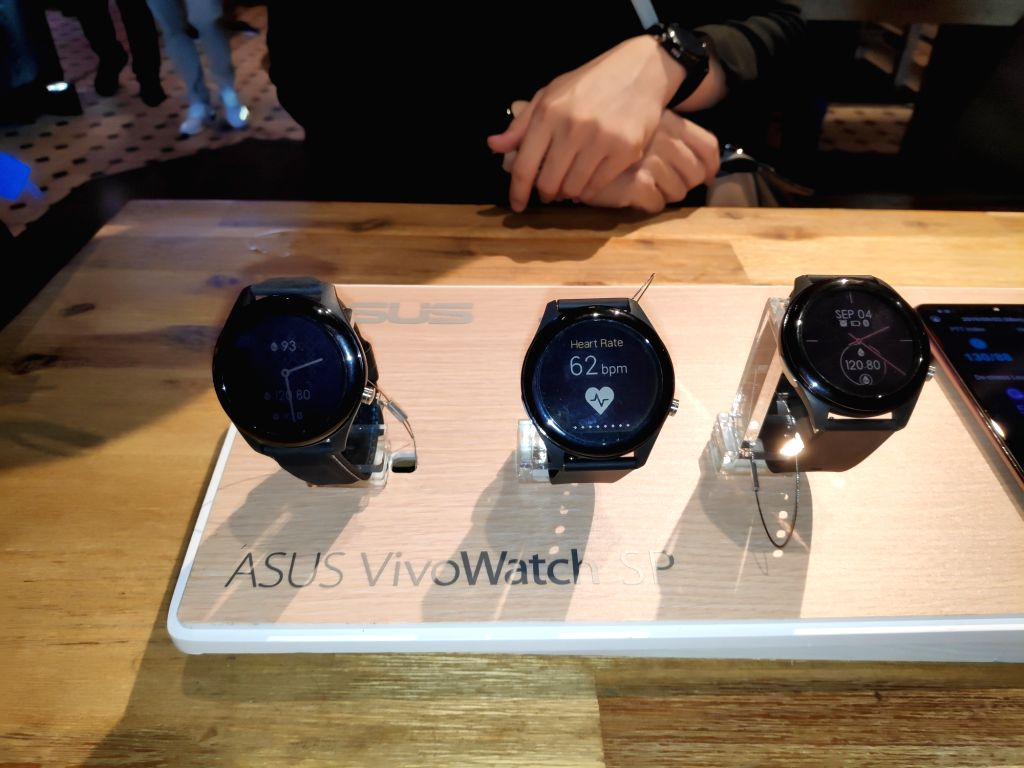 ASUS launched VivoWatch SP with built-in GPS and altimeter at IFA 2019 in Berlin, Germany.