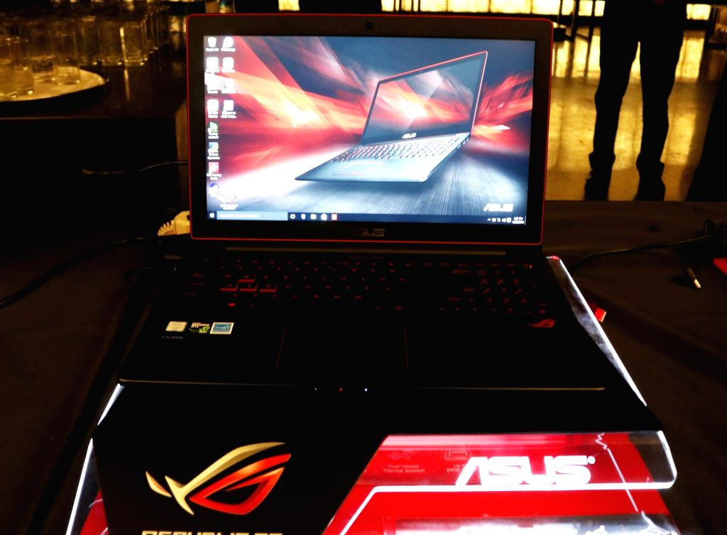 ASUS launches Republic of Gamers ( ROG) series in New Delhi, on April 20, 2016.