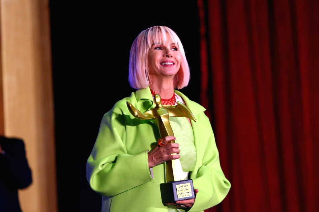 ASWAN (EGYPT), Feb. 10, 2020 Spanish actress Victoria Abril attends the opening ceremony of the Aswan International Women Film Festival in Aswan, Egypt, on Feb. 10, 2020. The fourth ... - Victoria Abril