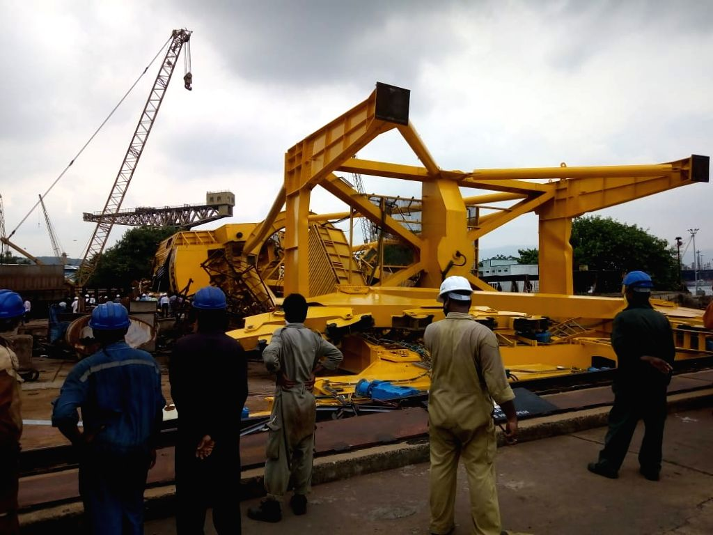 At least 10 persons were crushed to death when a giant crane collapsed at Hindustan Shipyard limited in Visakhapatnam on Aug 1, 2020. According to the police, the crane had undergone ...