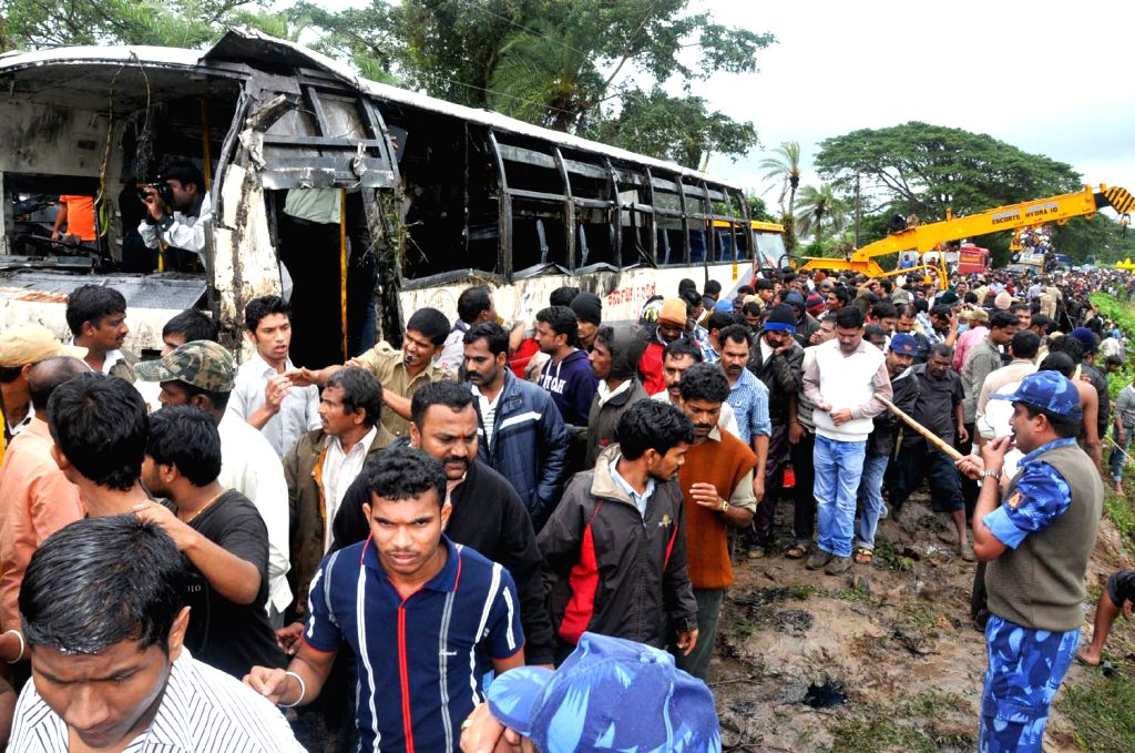 Bus Accident in Karnataka