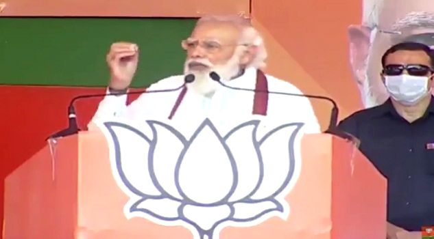 At Muzaffarpur rally, PM Modi warns voters about 'Prince of Jungle Raj