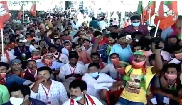At Muzaffarpur rally, PM Modi warns voters about 'Prince of Jungle Raj'