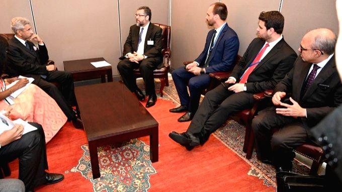 At UNGA, BRICS ministers condemn terrorism.