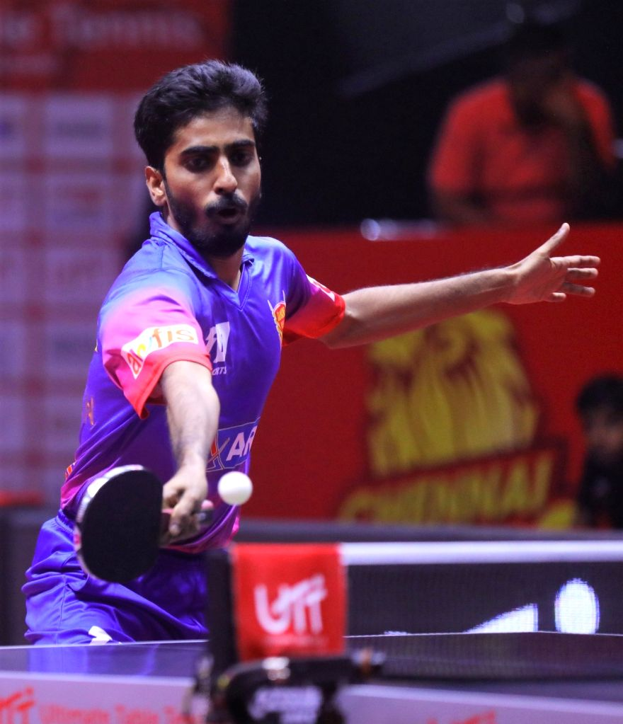 athiyan, Sharath and Batra cruise into second round of WTT Star Contender Doha