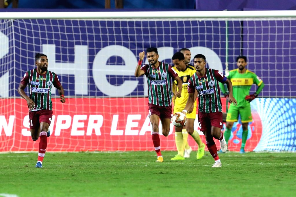ATKMB avoid shock defeat against 10-man Hyderabad, draw 2-2 ( Credit : ISL)