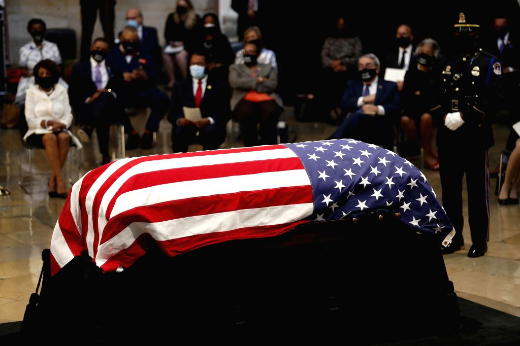 Atlanta holds funeral service for late US congressman John Lewis