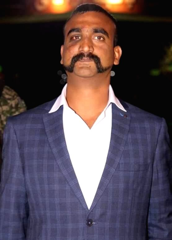 Attari: 35-year-old IAF Wing Commander Abhinandan Varthaman, who was handed over to Indian High Commission officials at Pakistan's Wagah border, waits for paper works to be completed before ...