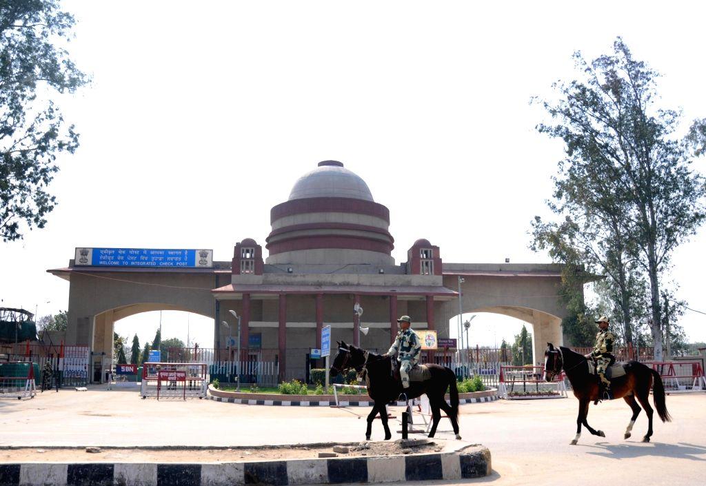 Attari-Wagah Integrated Check Post, in Punjab, India on Feb 25, 2019.