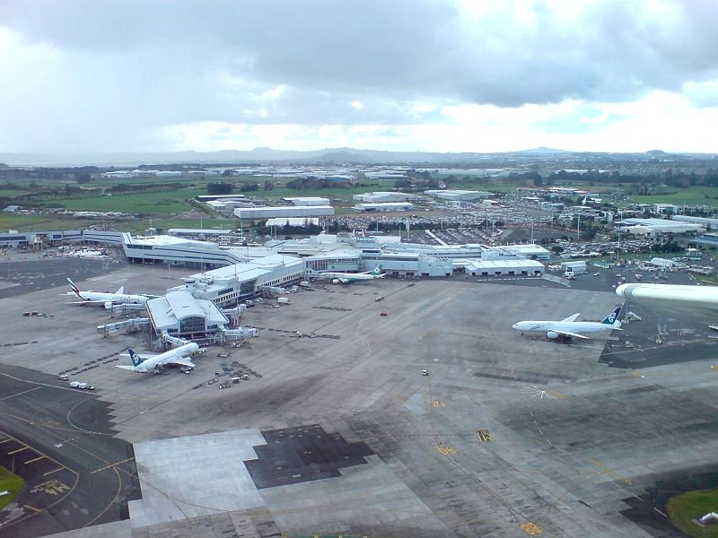 Auckland International Airport.
