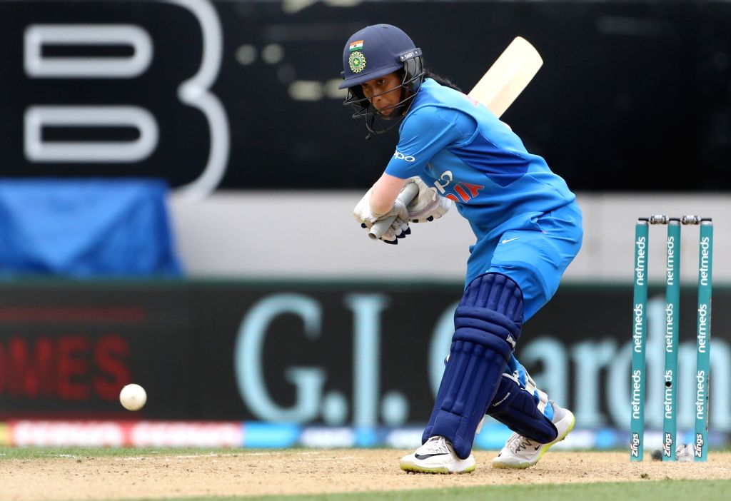 Auckland (New Zealand): India's Jemimah Rodrigues in action during the second women's T20I match between India and New Zealand at Eden Park in Auckland, New Zealand on Feb 8, 2019.