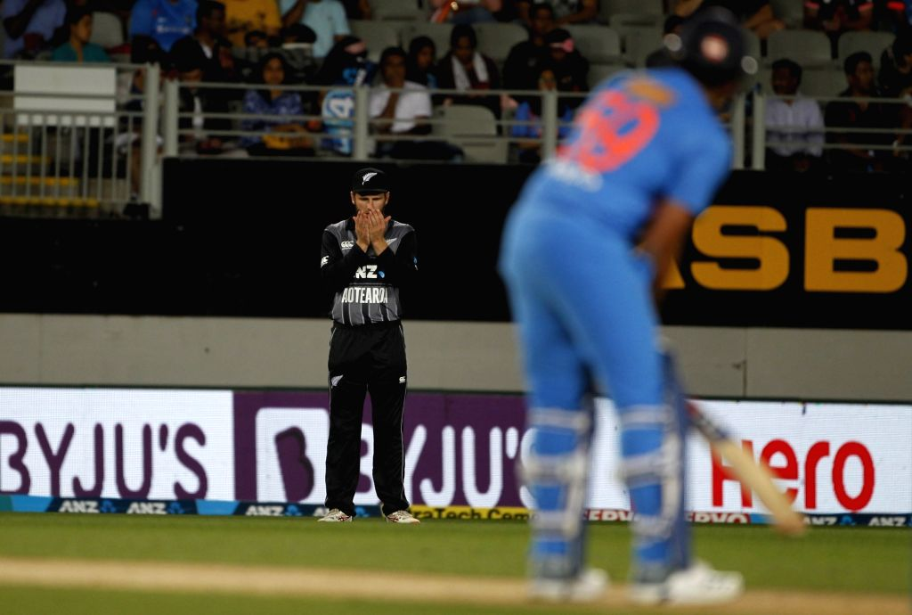 Auckland (New Zealand): New Zealand captain Kane Williamson during the second T20I match between India and New Zealand at Eden Park in Auckland, New Zealand on Feb 8, 2019. - Kane Williamson