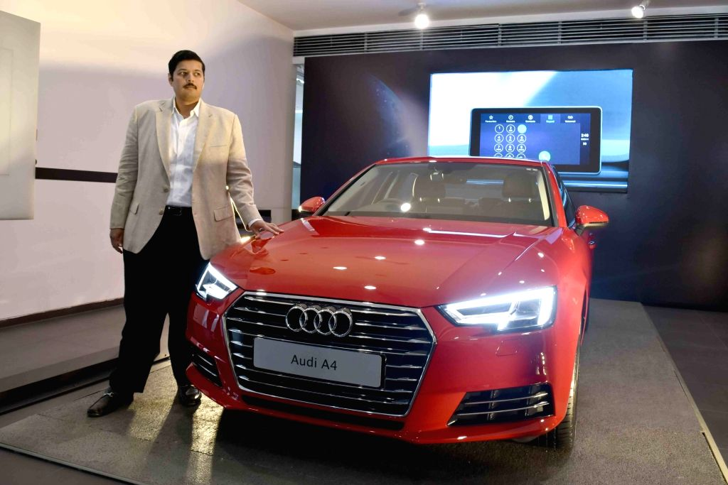 Audi India launches Audi A4 in Hyderabd on Sept 9, 2016.