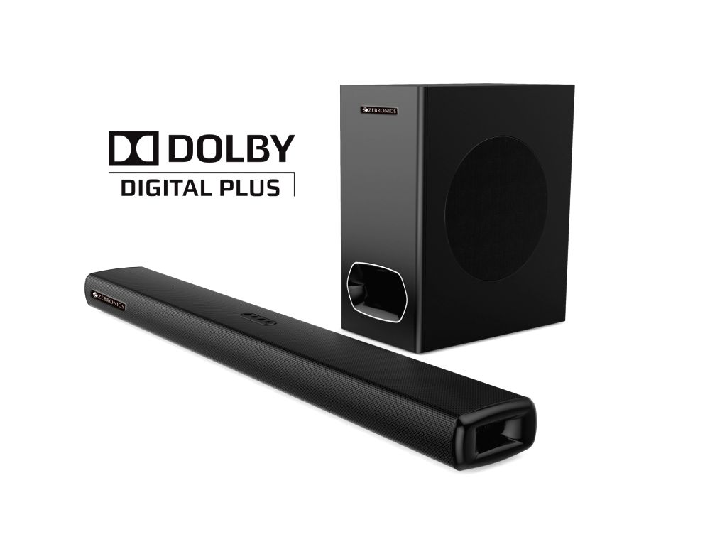 Audio accessory maker Zebronics on Thursday launched its new sound bar the 'ZEB-Juke Bar 9000 Pro Dolby' that comes with a theatre like sound experience elevating your home entertainment experience.
