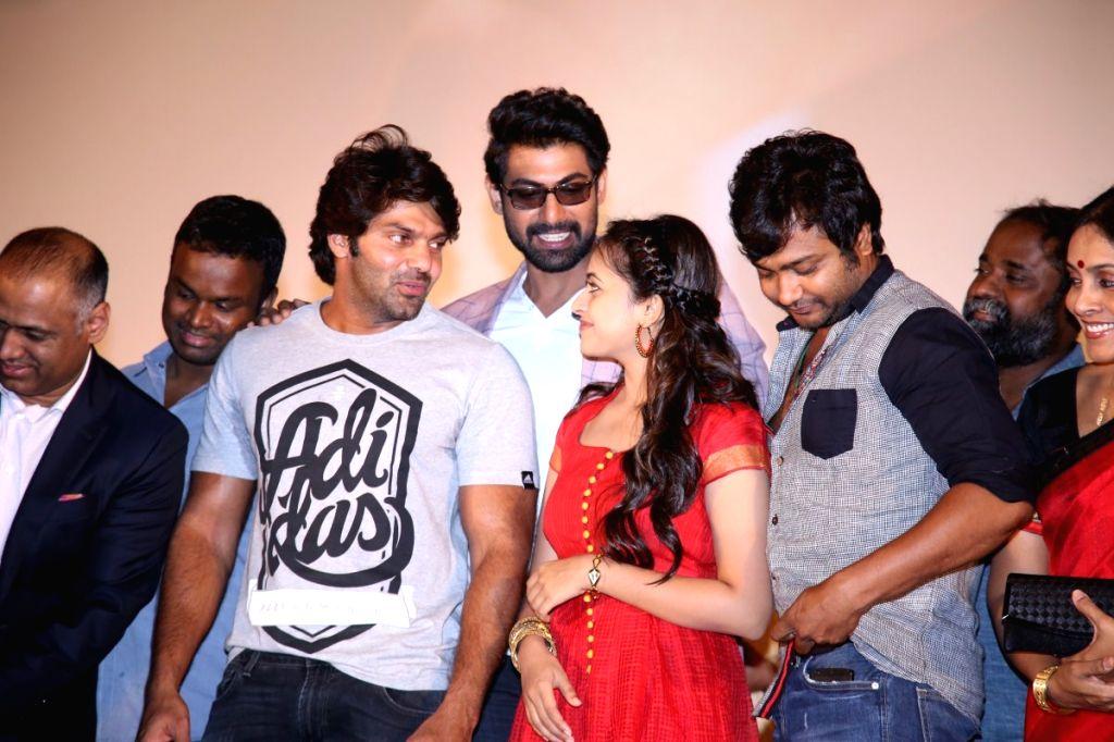 Audio launch of Tamil film `Bangalore Naatkal`
