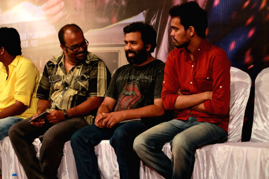 Audio launch of Tamil film `Valla Dhesam`.