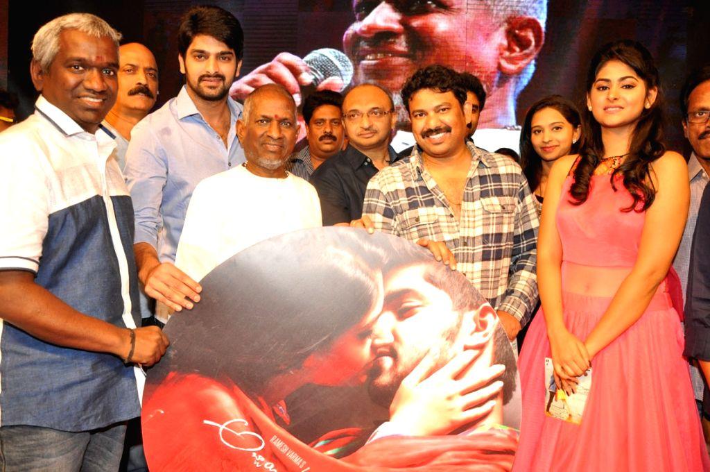 Audio launch of Telugu film Abbayitho Ammayi in Hyderabad on Nov 18, 2015.