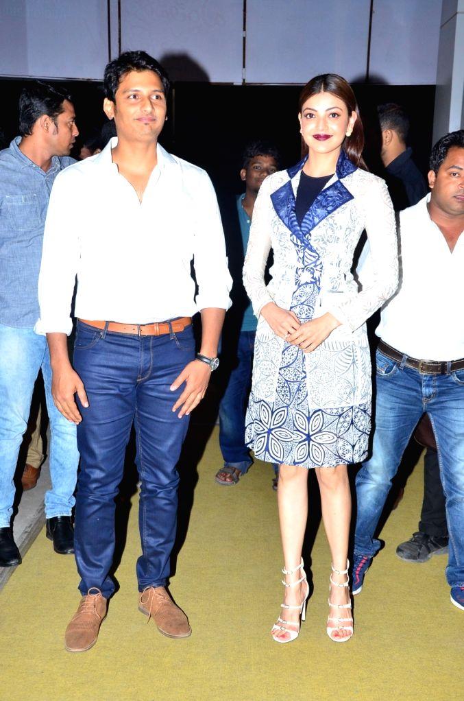 Audio launch of Telugu film Entha Varaku Ee Prema in Hyderabad on Oct. 27, 2016.