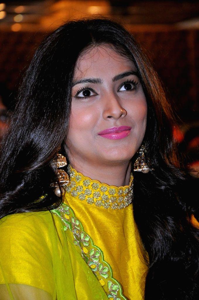 Audio launch of Telugu film Naruda Donaruda in Hyderabad on Oct. 27, 2016.