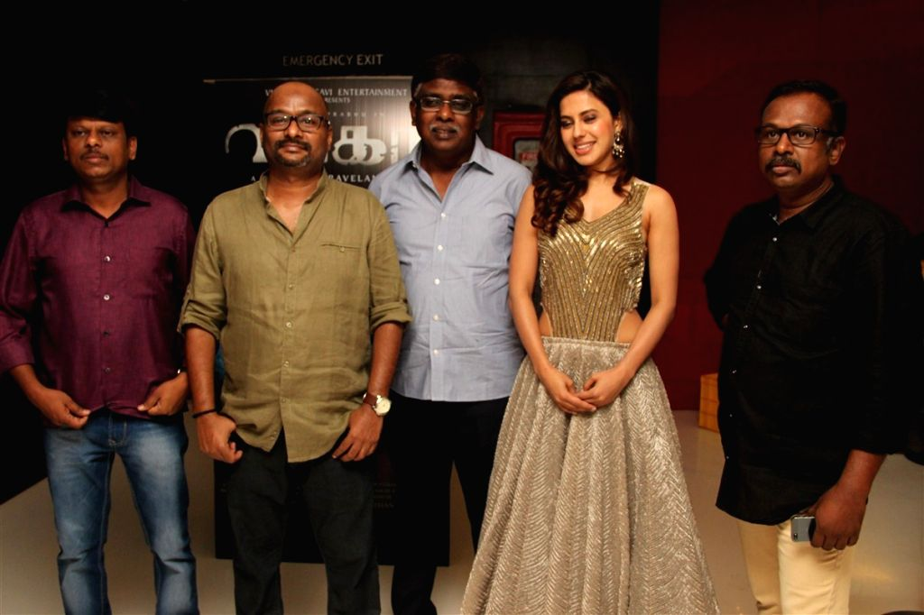 Audio launch stills from Tamil film `Wagah`