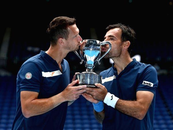 Australian Open: Dodig, Polasek win men's doubles title.(photo:Australian Open)