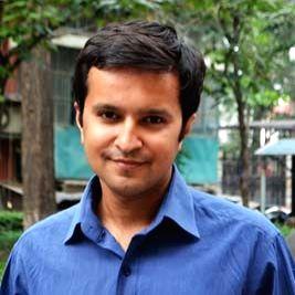 Author Ananth Krishnan.