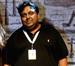 Author Ashwin Sanghi.