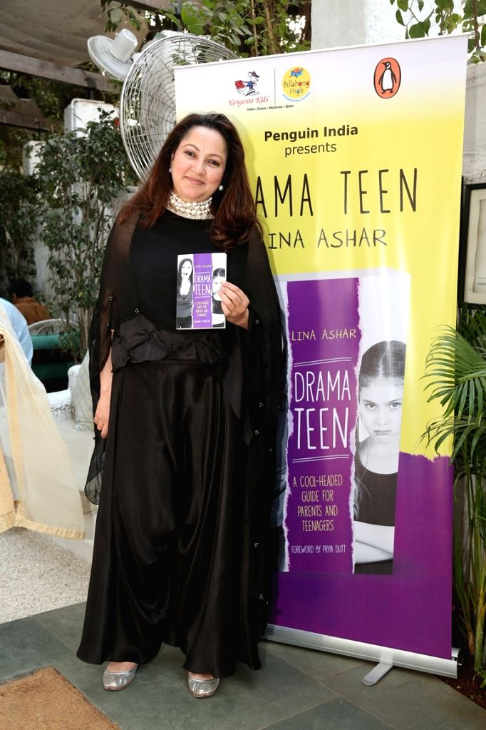 """Author Lina Ashar at her book launch of  """"Drama Teen"""" in Mumbai on Jan 24, 2017"""