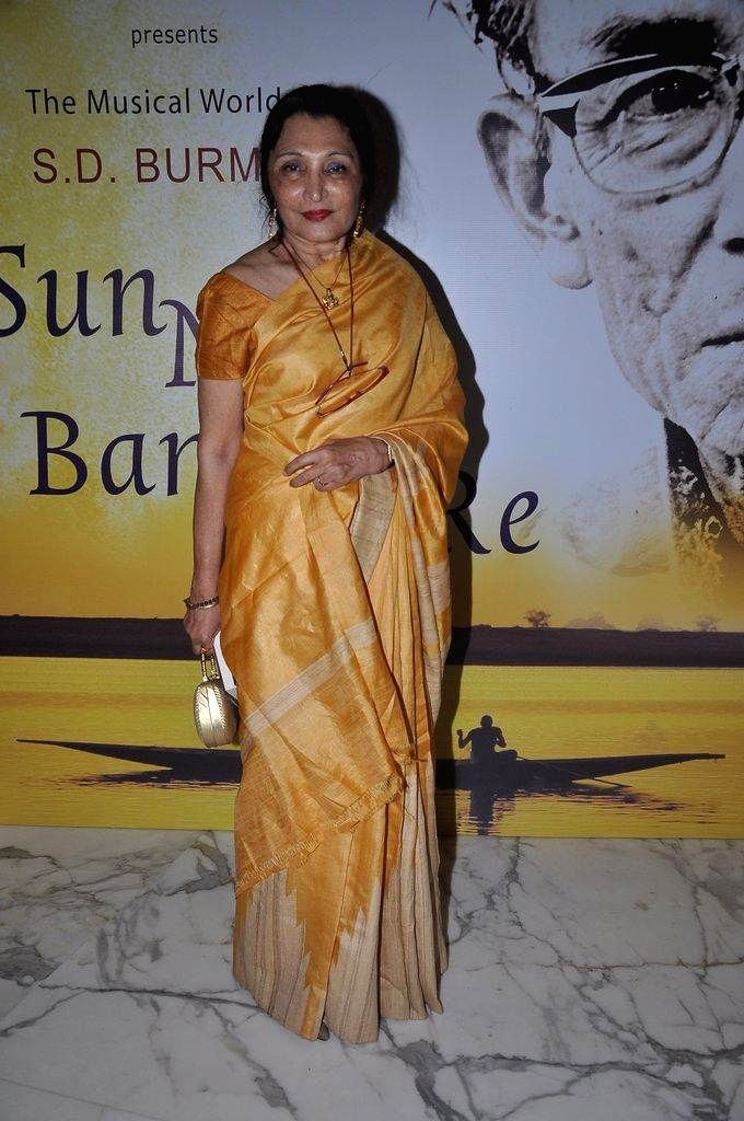 Author Sathya Saran during the book launch `Sun Mere Bandhu Re-The Musical World of S D Burman` written by her in Mumbai, on August 8, 2014.