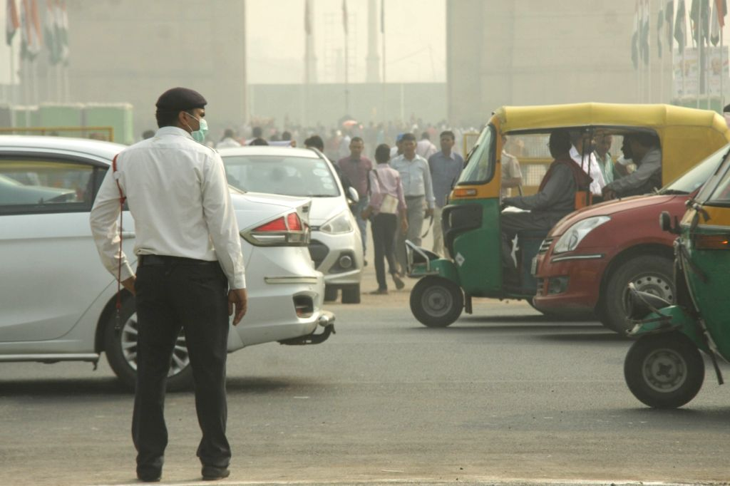 Auto driver fined Rs 32,500 for traffic violations. (Photo: IANS)