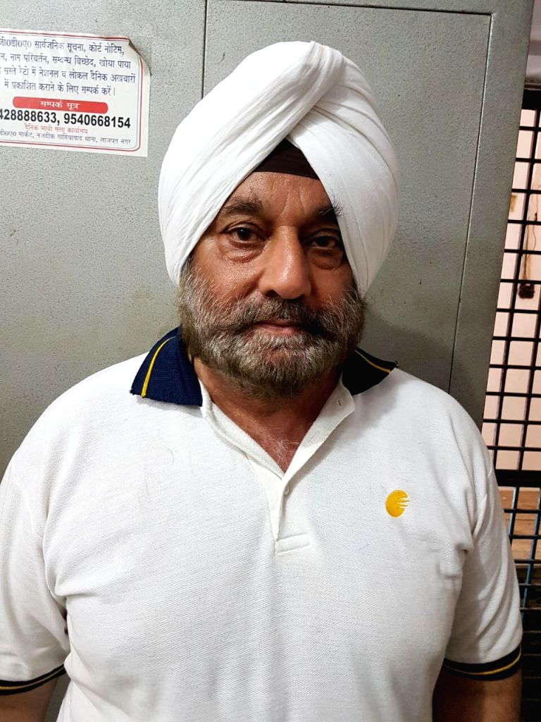 Avneesh Singh Bedi, who has been arrested  by the Ghaziabad police in connection with a land grabbing case on July 2, 2017. Bedi claims to be a Jet Airways official. - Avneesh Singh Bedi